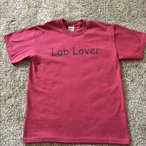 Women's lab lover tee shirt